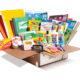 Edukit box of school supplies