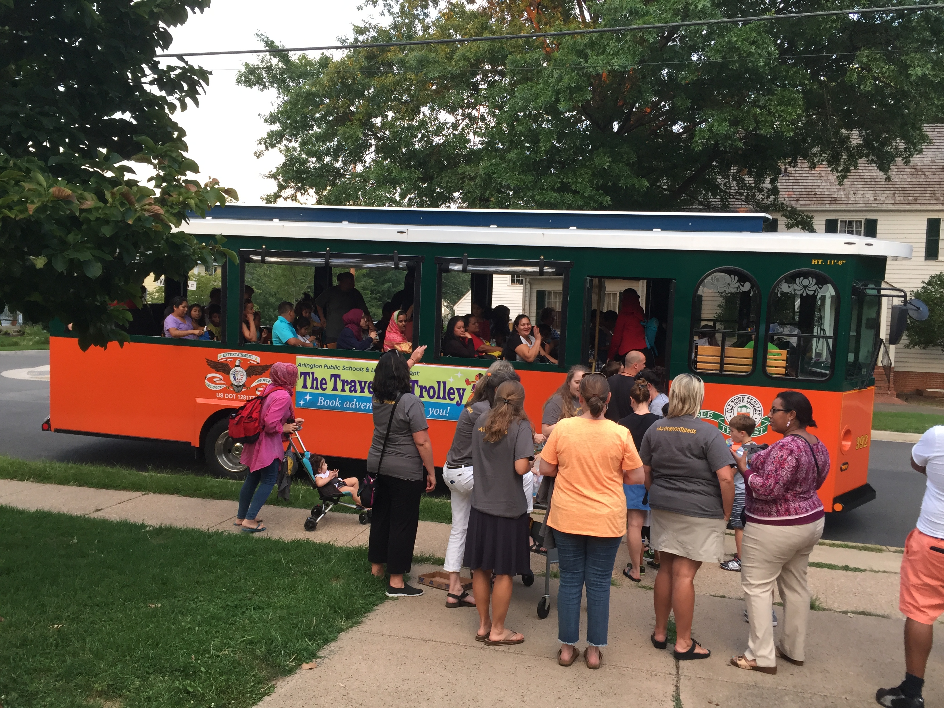 Ride the Traveling Trolley this summer!