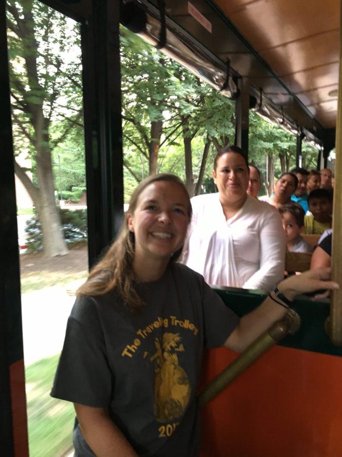 Melinda Philips on Trolley