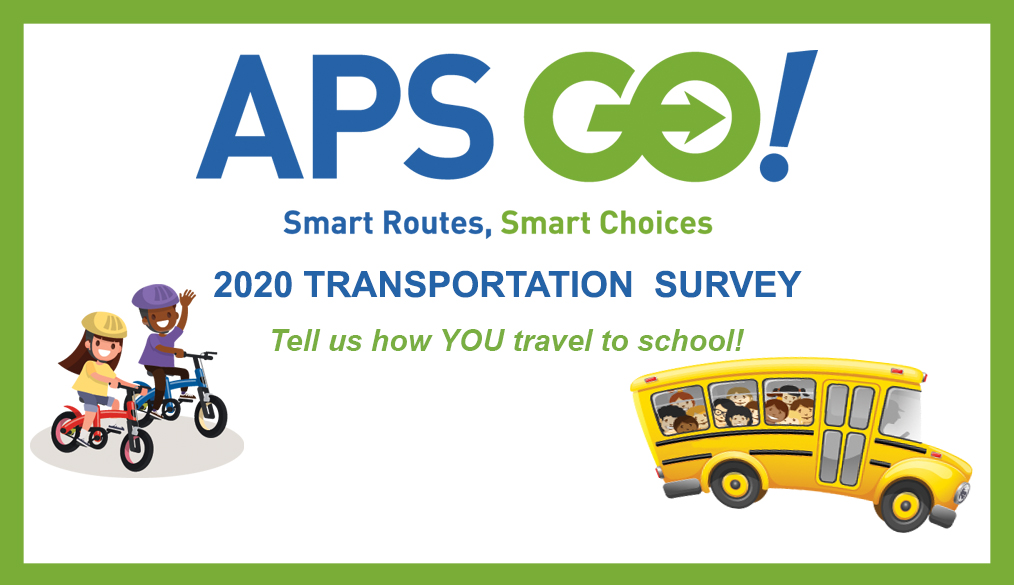 Tell us how YOU travel to school!