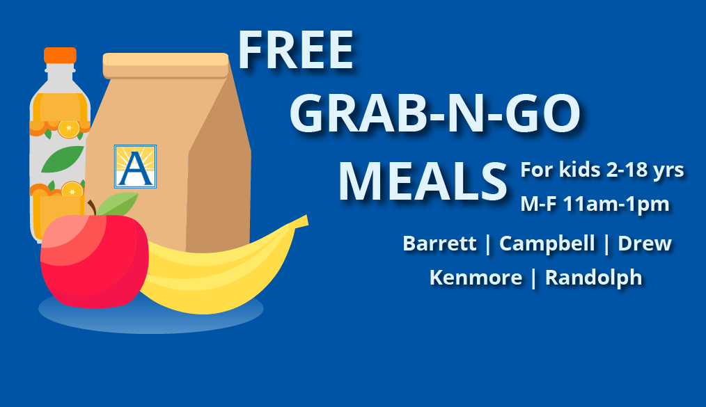 Free Meals for Students During Closures / Comida gratis para estudiantes mientras las escuelas están cerradas