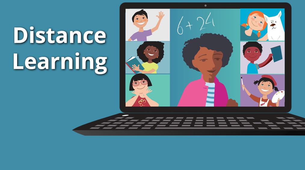 Узнать больше о дистанционном обучении / Más información sobre el aprendizaje a distancia