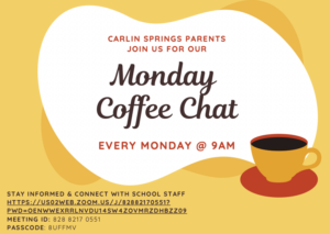 Coffee Chat Flyer in English