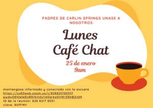 Parent Coffee Chat Flyer