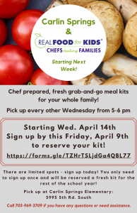 Real Food For Kids Flyer English