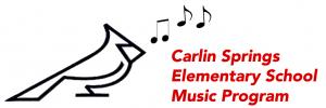 CS website music logo
