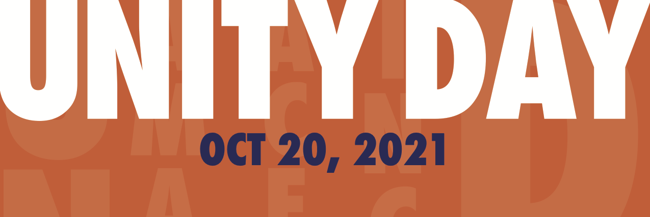 Wear and Share Orange on Unity Day /  Use y Comparta Anaranjado en el Día de la Unidad- Oct. 20, 2021